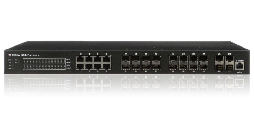 Red Lion Presents Layer 3 Gigabit Ethernet Switch