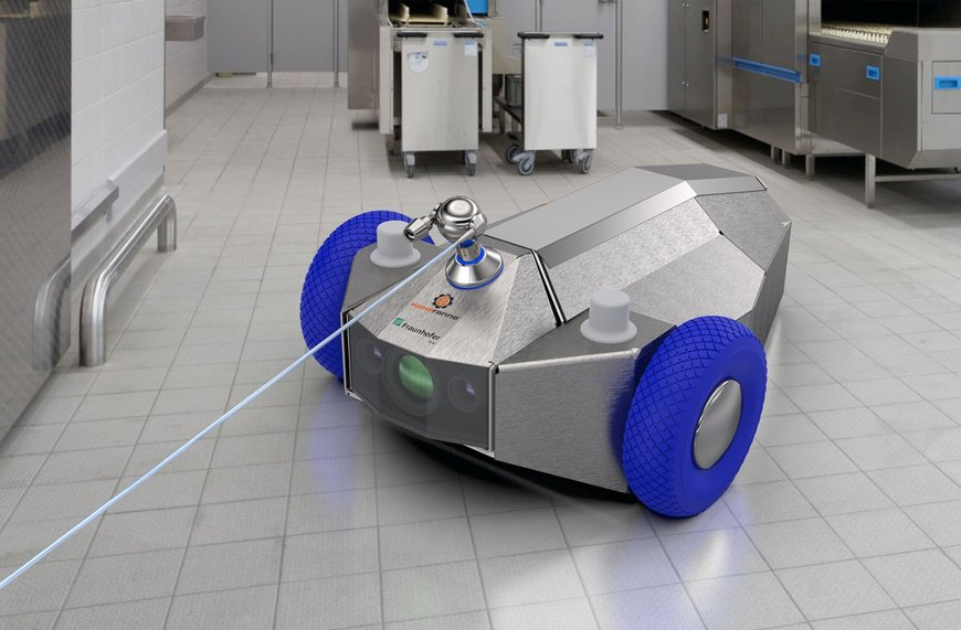 Mobile robot cleaner takes production hygiene to a higher level