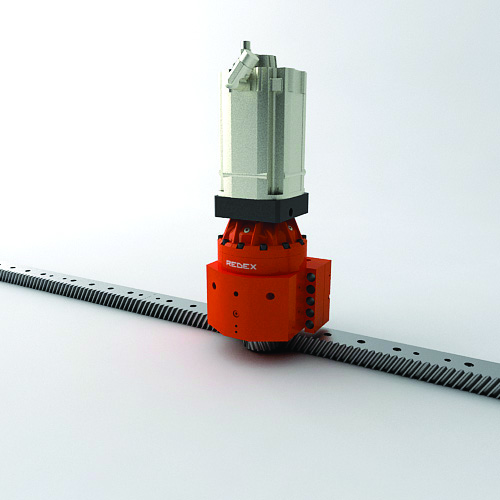 High precision Redex rack and pinion drives in the aeronautic industry